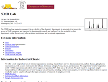 Tablet Preview of nmr.chem.umn.edu